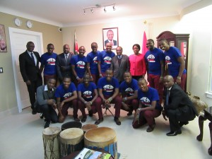The Kenyan Boys Choir - Group Photo