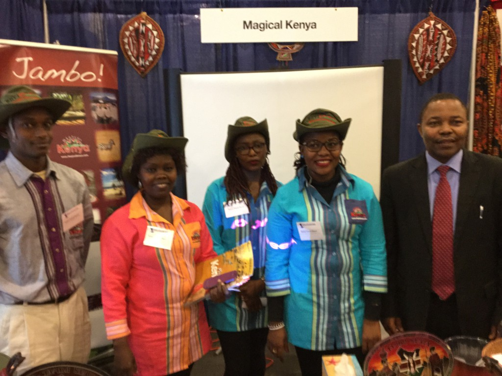 Kenya showcases at the Ottawa Travel and Vacation Show