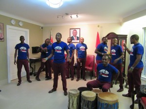 The Kenyan Boys Choir - at the KHC