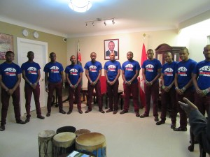 The Kenyan Boys Choir - performing at the KHC