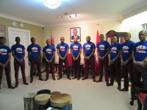 The Kenyan Boys Choir - performing