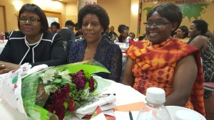 Deputy Head of Mission Amb (Prof) Jane Onsongo Ms Scholastica Nzioki